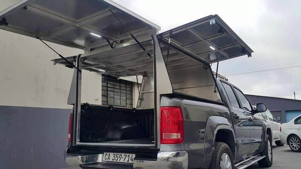 West Coast Kia >> Amarok Farrier Canopy   Razorback Aluminium Canopies