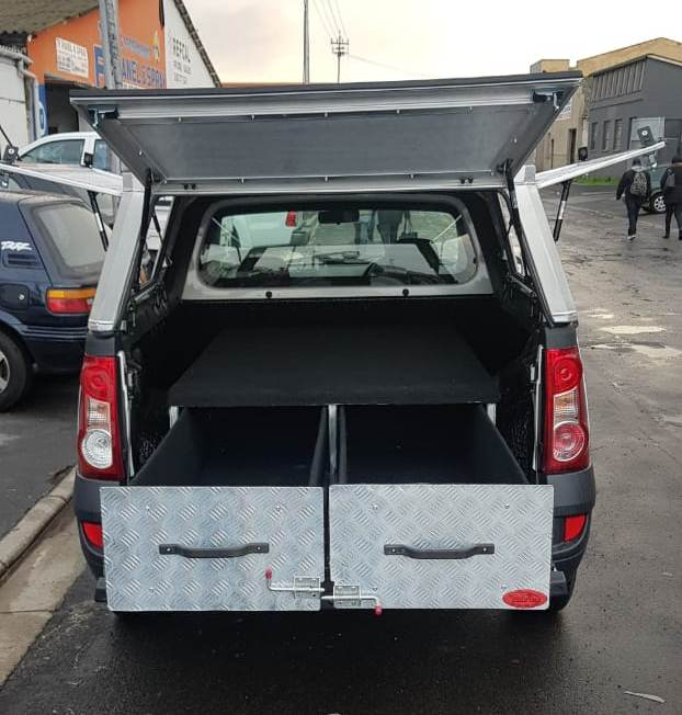 Nissan Np200 Canopy With Drawer System Razorback