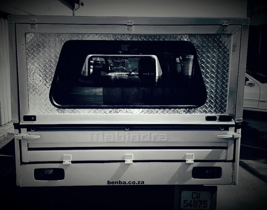 Mahindra Bolero Maxitruck Razorback Aluminium Canopies