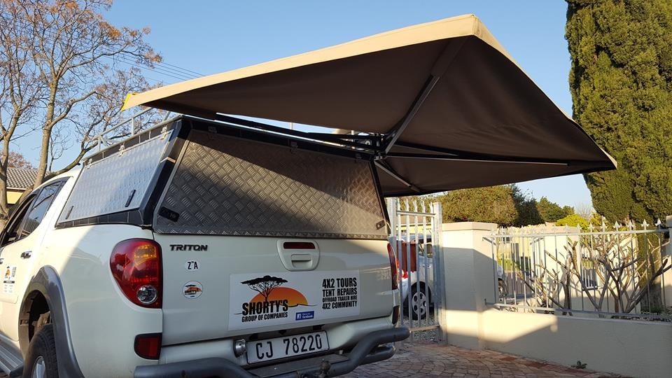 270 Degree Awnings Razorback Aluminium Canopies