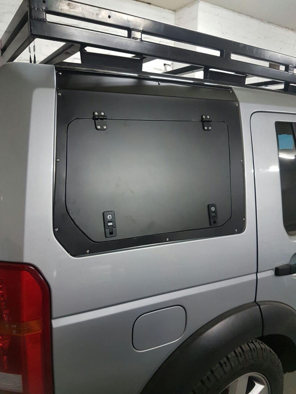 Land Rover Discovery Gullwing Doors Razorback Aluminium